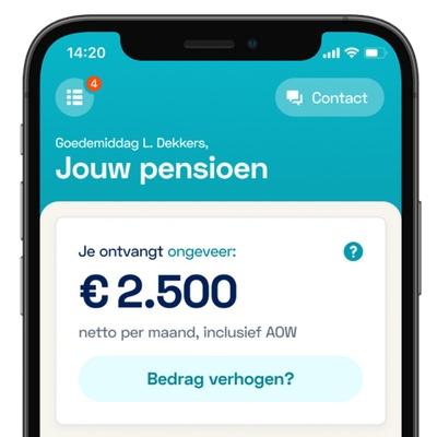 Nieuwe pensioenwet 1 jaar uitgesteld